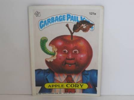 121a Apple CORY [Copyright] 1986 Topps Garbage Pail Kids Card
